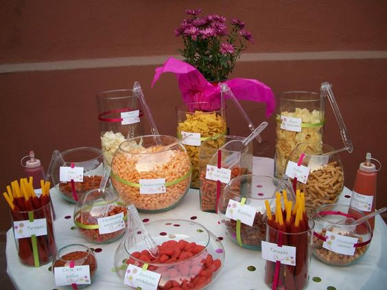 42 ideas mesas dulces perfectas xv anos 15 ideas para for Ideas para mesas dulces