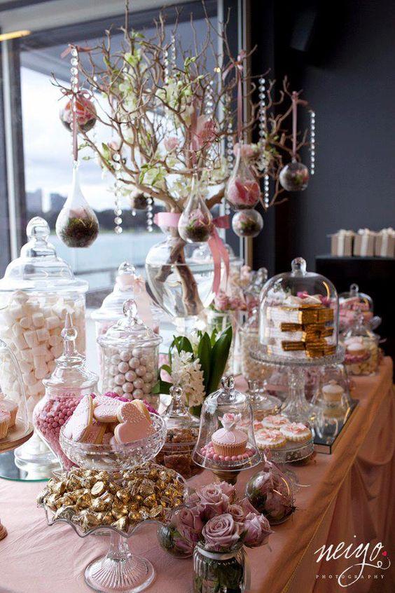 Como montar una mesas de dulces para xv a os ideas para for Mesa de dulces para xv anos