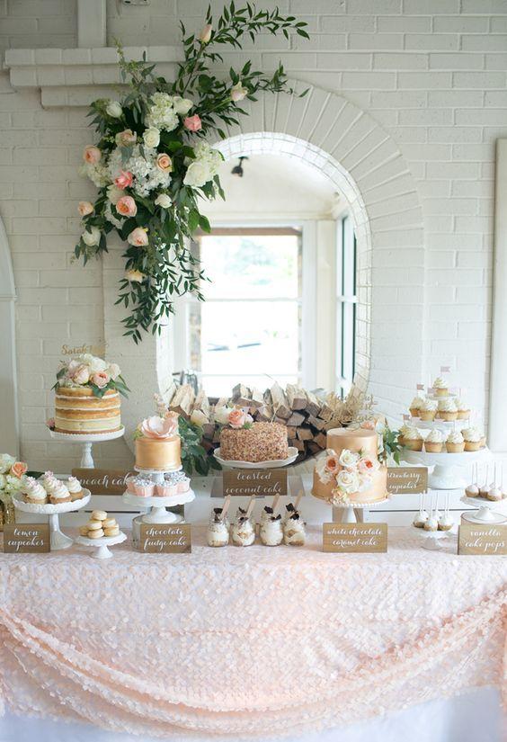 mesas de dulces perfectas para xv años