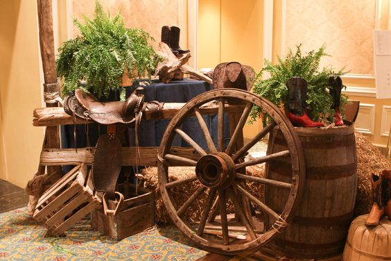 Image Result For Cowboy Wedding Decorations