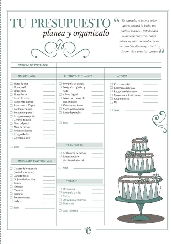 Tips practicos organizar una fiesta xv anos 24 ideas - Organizar mi boda ...