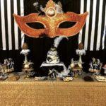 Fiesta de 15 años de mascaras