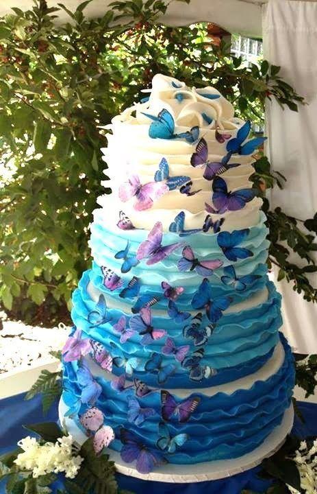 Ideas para 15 años con temática de mariposas