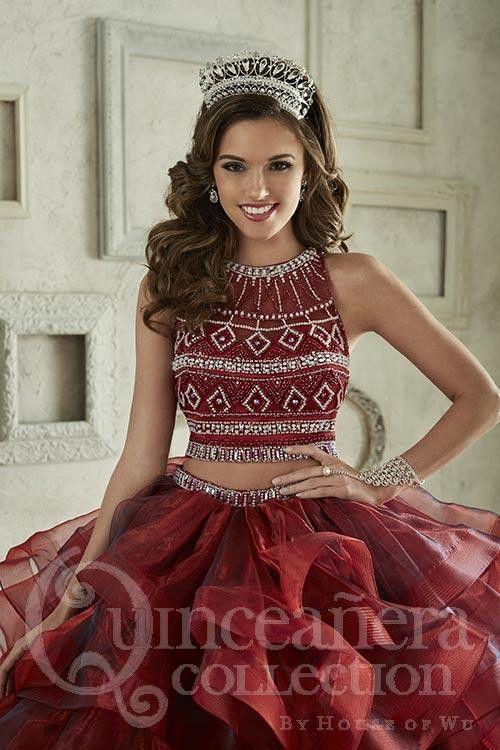 bd6dd1e9e 30-hermosos-vestidos-dos-piezas-quinceaneras (2) - Ideas para ...