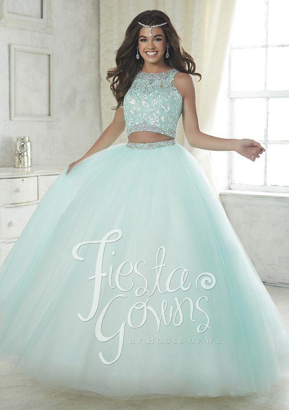 99a7596020 30-hermosos-vestidos-dos-piezas-quinceaneras (26) - Ideas para ...