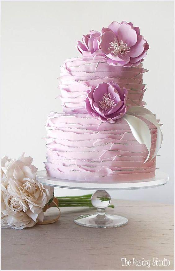 Disenos modernos de pasteles