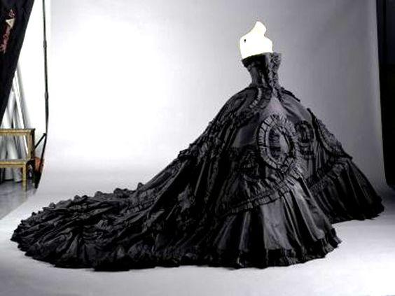 Vestidos de xv de color negro