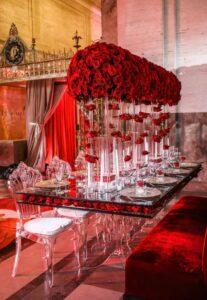 Ideas para Decorar tu Fiesta de XV años en Color Rojo