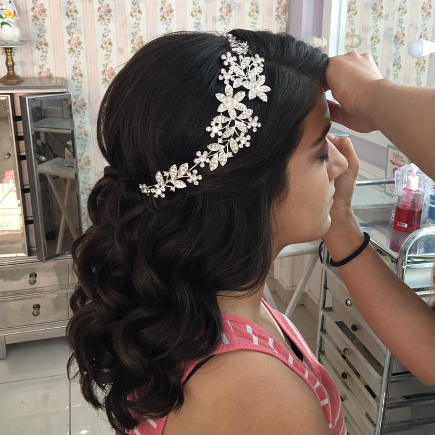 quinceanera hairstyles 2018 2019 | ideasparamisquince