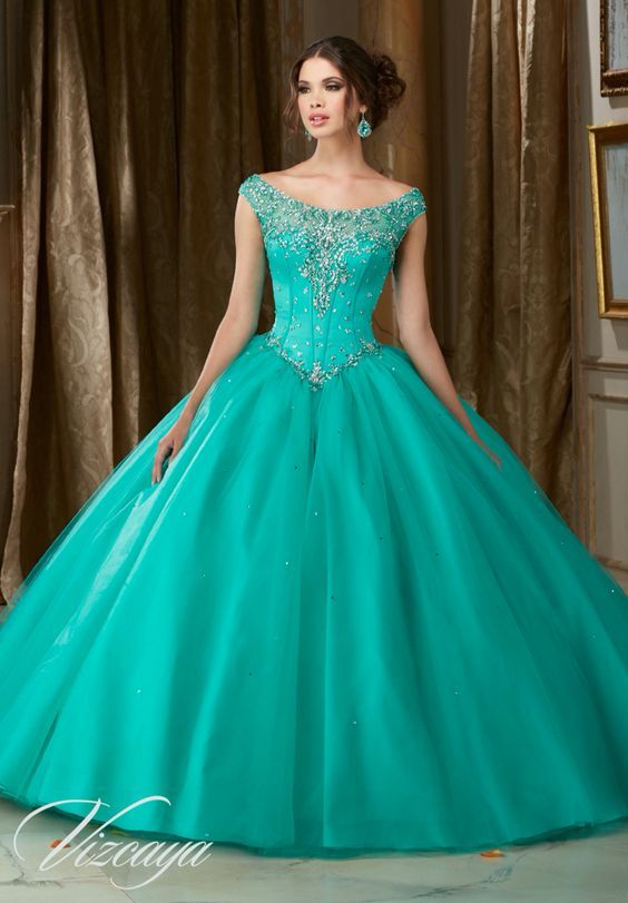 Vestido azul quince aрів±os