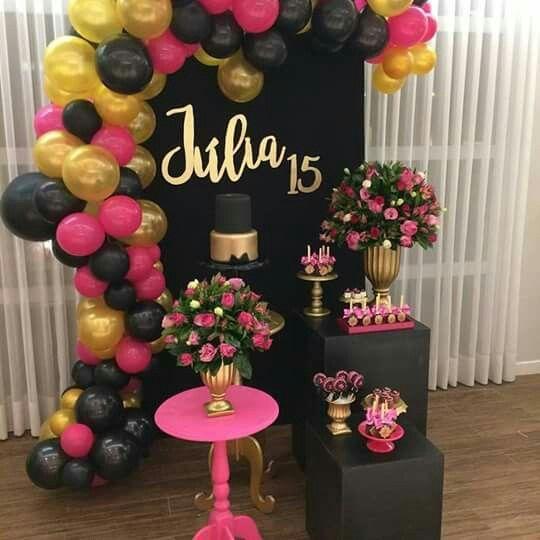 Ideas para decorar un salon de XV años