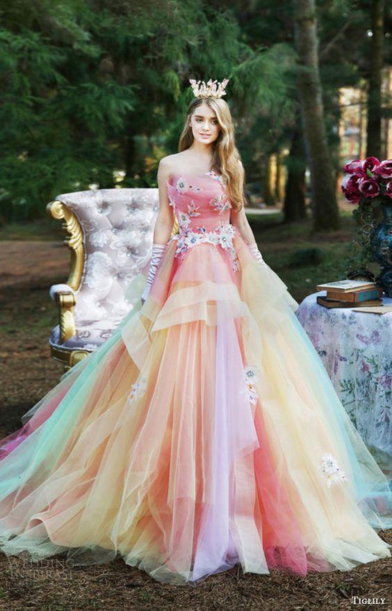 Vestidos de 15 años Inspirados en los Unicornios