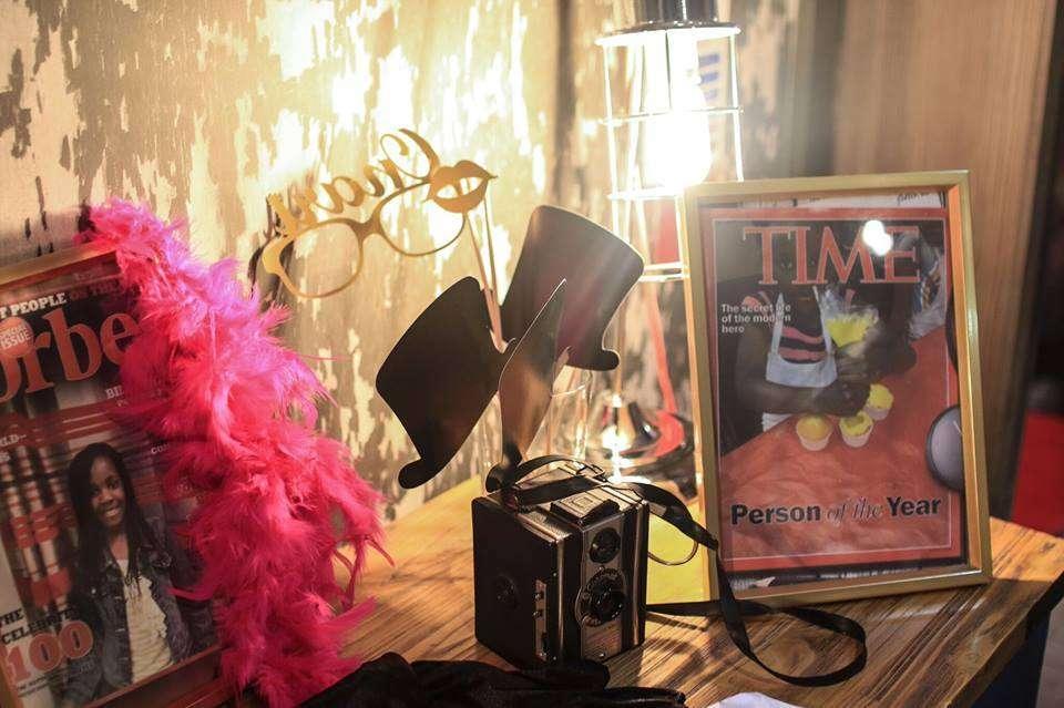 XV años Estilo Hollywood en Color Rosa