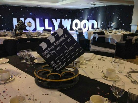 Fiesta de 15 Años Inspirada en Hollywood