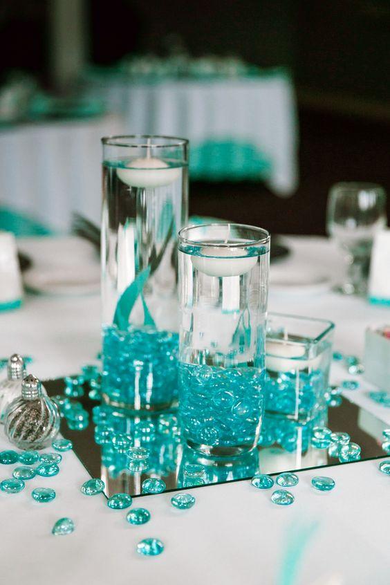 Ideas para centros de mesa para xv años