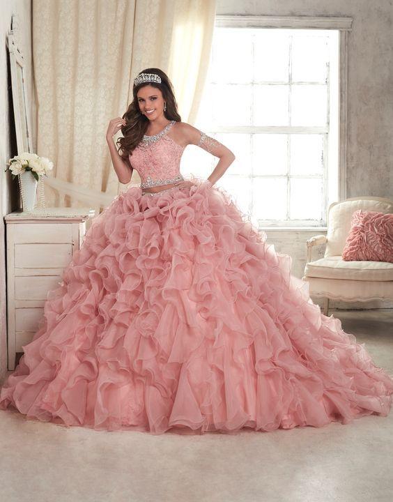 6a713c6be Los mejores estilos de vestidos de xv años 2019 - 2020