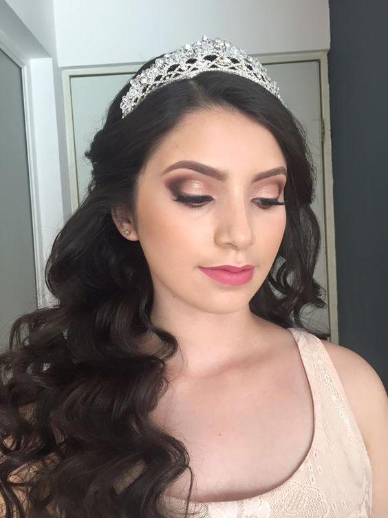 Peinados y maquillaje para quinceanera 2017 -2018 (4)