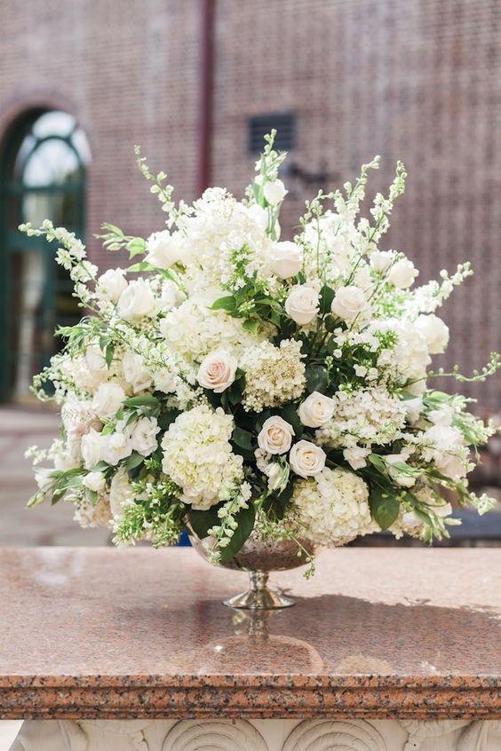 Arreglos florales para xv años sencillos