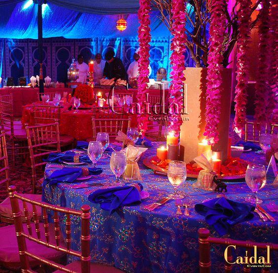 azul marino + rosa decoracion 15 anos (5)