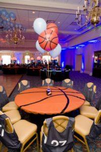 centro de mesa para fiesta de 15 anos hombre de deportes