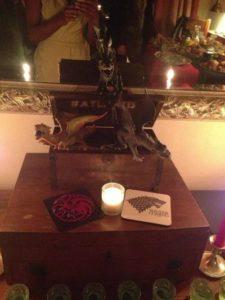 centro de mesa para fiesta de game of trhones 15 anos hombre (2)