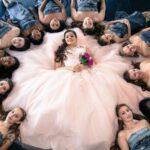 damas de honor para fiesta de 15 anos