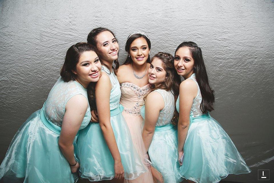 damas de honor para fiesta de 15 anos (3)