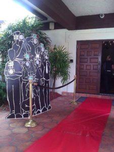 decoracion de la entrada fiesta hollywood 15 anos hombre (2)