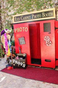 decoracion de la entrada fiesta hollywood 15 anos hombre