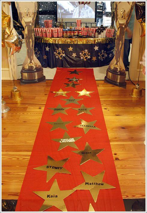 decoracion de la entrada fiesta hollywood 15 anos hombre (3)