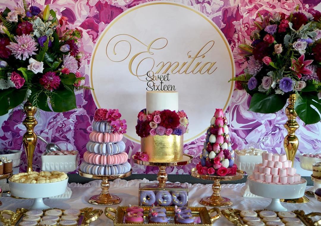 Ideas Para Una Fiesta De 16 Sixteen Party Las Fiestas Mas - Decoracion-mesas-fiestas