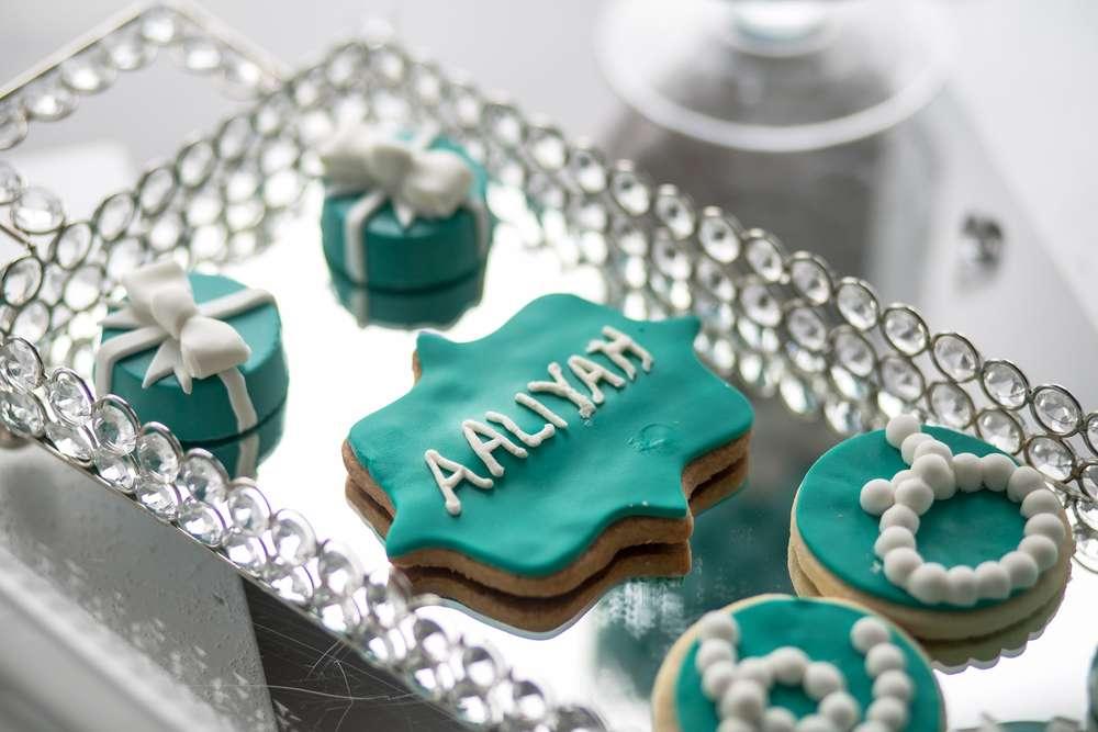 dulces dieciseis con tema tiffany (2)