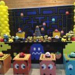 mesa de postres fiesta videojuegos 15 anos hombres