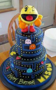 pastel de videojuegos para fiesta de 15 anos