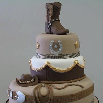 pastel para fiesta vaquera de 15 anos hombre (2)