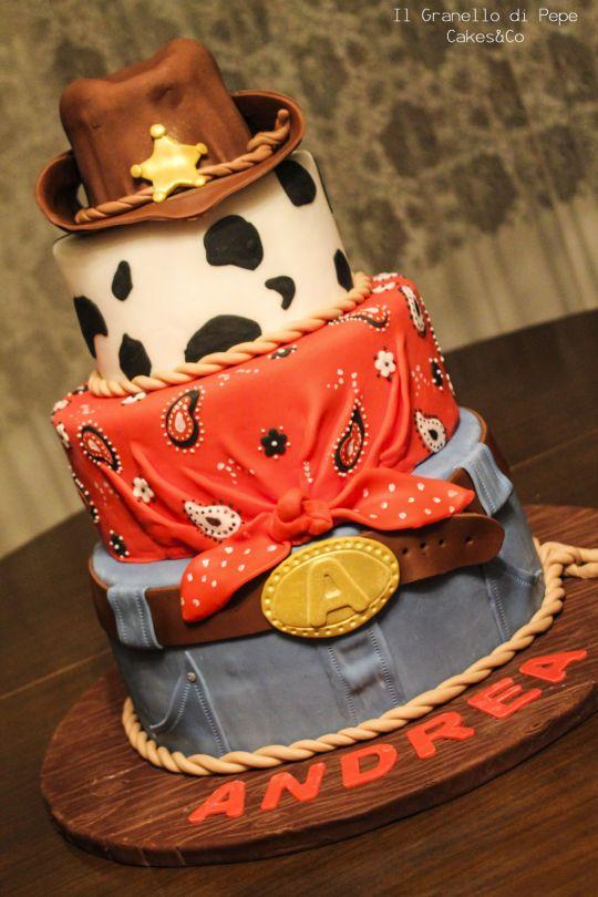 pastel para fiesta vaquera de 15 anos hombre