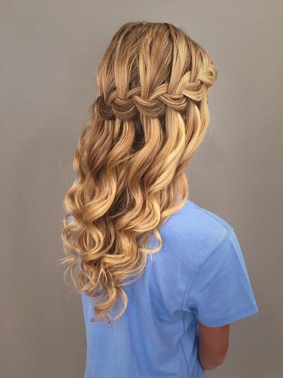 peinados para las damas de la quinceañeras
