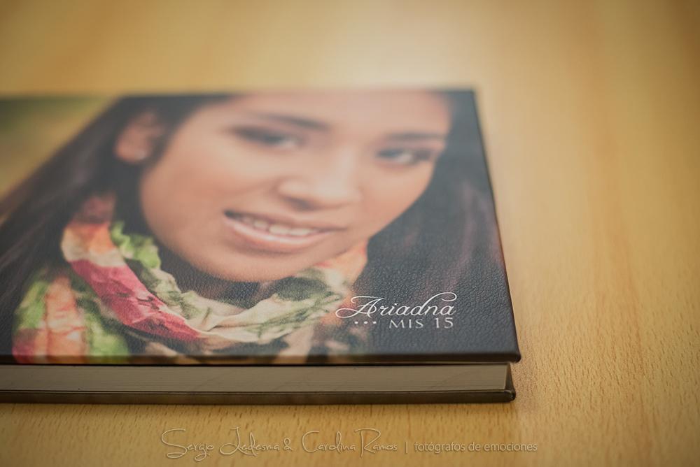photobook de lujo en cuero