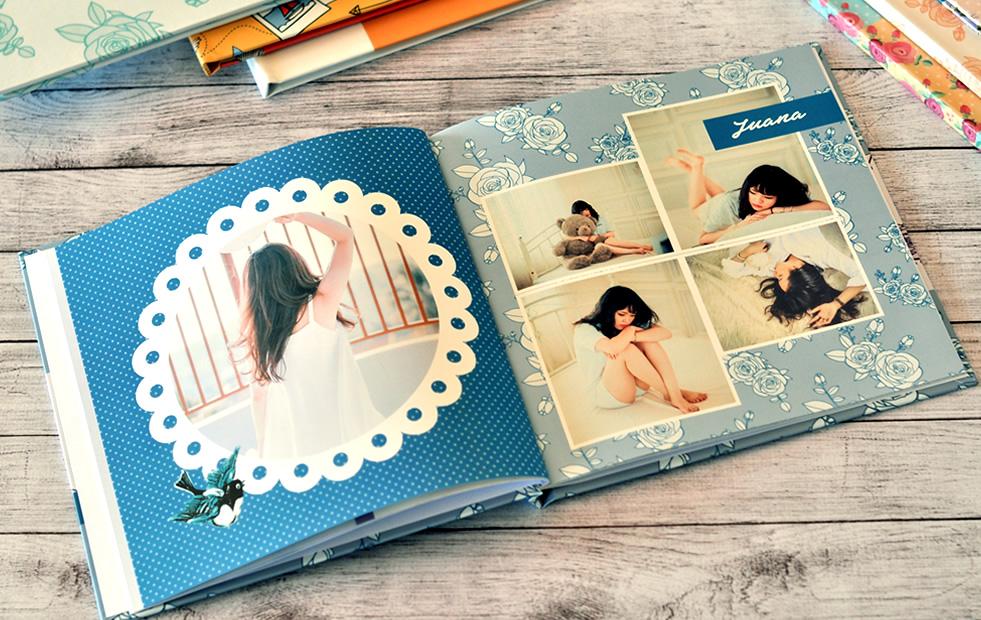 photobook para una quinceañera