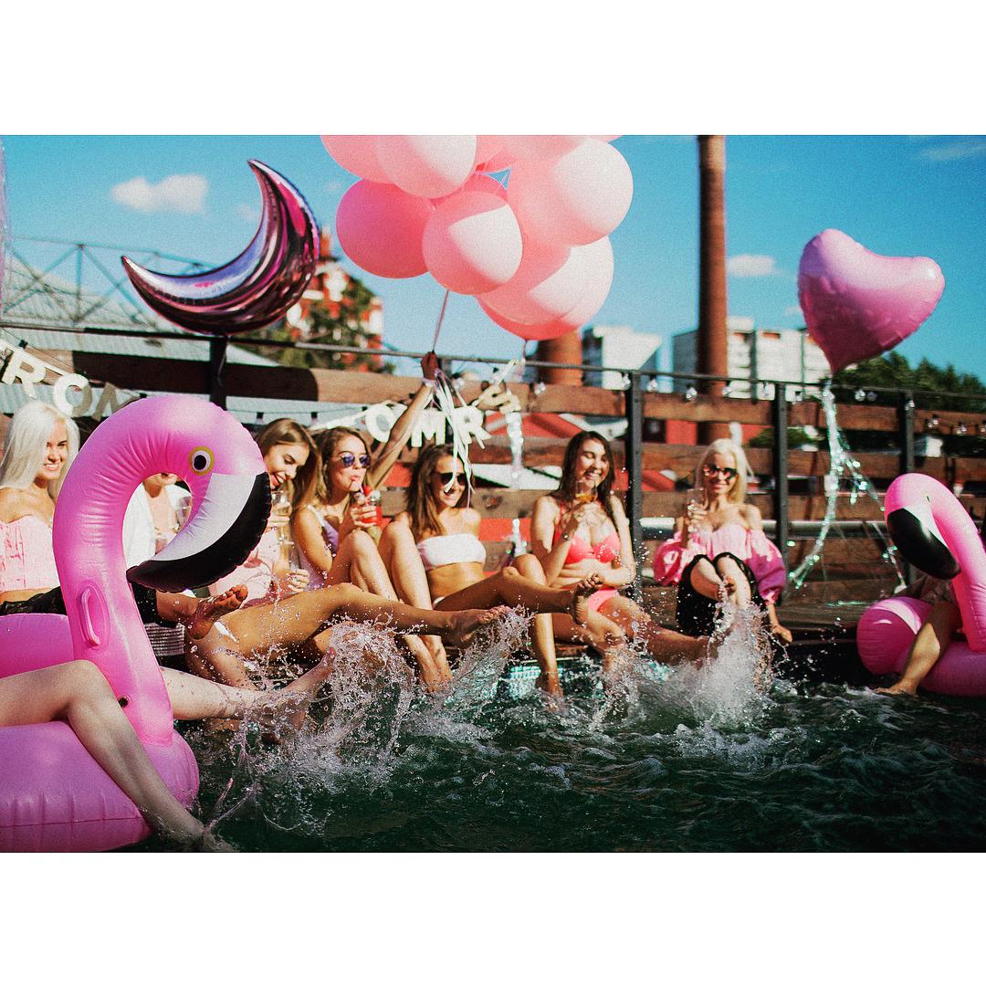 pool party para cumple de 16 anos (2)