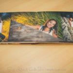 un libro de fotos esta elaborado con imagenes de alta calidad