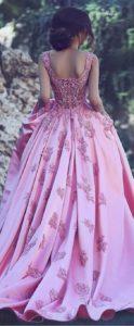 vestido de 15 anos color rosa para piel morena (4)