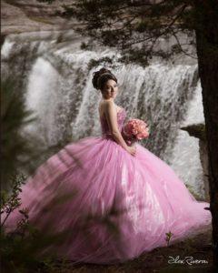 vestido de 15 anos color rosa para piel morena (5)