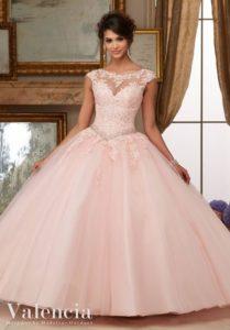 vestido de 15 anos color rosa para piel morena (7)