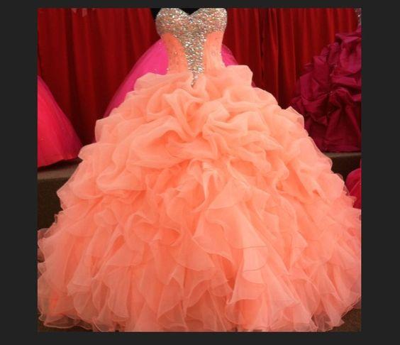 vestido de 15 anos para piel morena rosa coral (3)