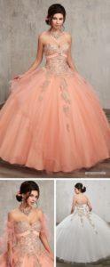 vestido de 15 anos para piel morena rosa coral (5)