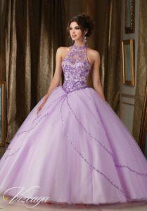 vestido de xv anos para piel morena en color violeta (3)