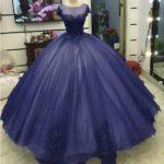 vestido de xv anos para piel morena en color violeta (6)