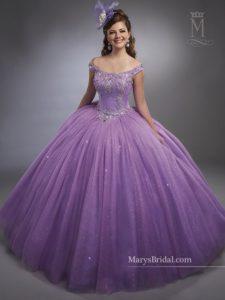 vestido de xv anos para piel morena en color violeta (8)