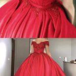 vestido rojo de 15 anos para morens (3)